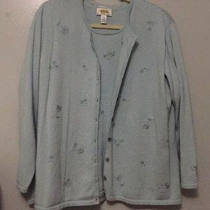 New listing; Talbots 2pc. Sweater set